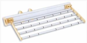 Παντελονοθήκη ρούχων οροφής αλουμινίου 45Χ19cm    27-018