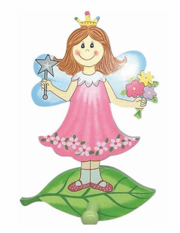 Κρεμάστρα παιδική ξύλινη 410 roline