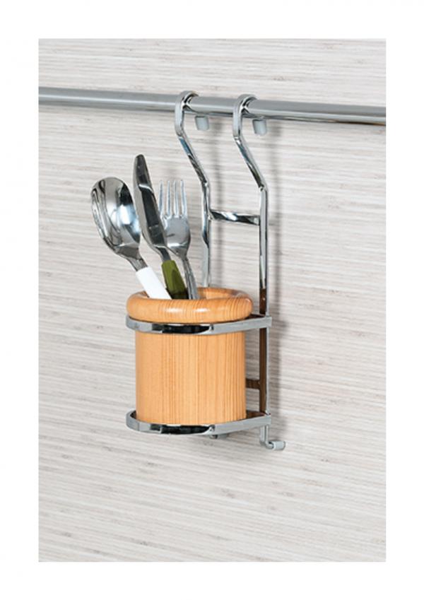 Κουταλοθήκη S 4109 κρεμαστή ξύλινη 10,0Χ,5cmΧ30,0cm
