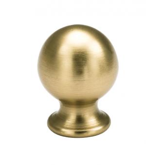 Πομολάκι επίπλων Μπίλια Φ23 σε χρυσό ματ 01.114