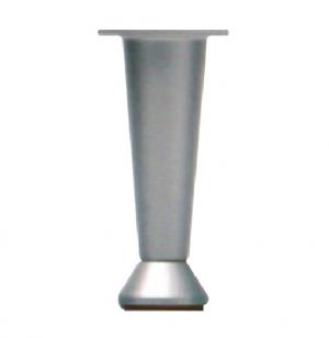 Πόδι επίπλου 10εκ κωνικό αλουμινίου