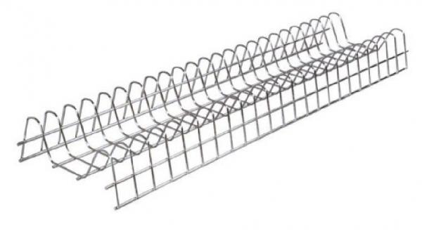 Πιατοθήκη ντουλαπιού νέου τύπου καθιστή-κρεμαστή επινικελωμένη  80cm