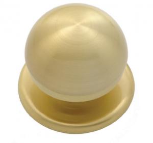 Μπούλ εξώπορτας  χρυσό ματ Β-1