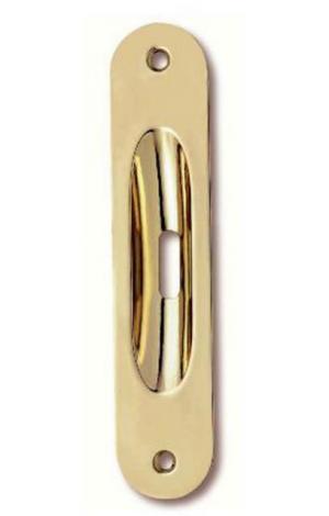 Χούφτα  συρόμενης πόρτας 16,0X3,5cm χρυσό γυαλιστερό Νο 21