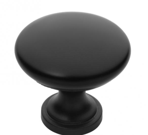 Πόμολο επίπλου Φ 27 μαύρο ματ 508
