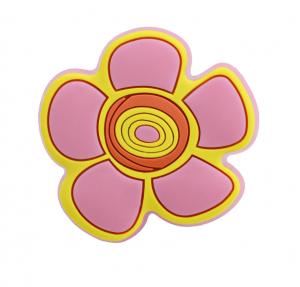 Παιδικό πομολάκι 5,5x3,5cm Λουλουδάκι μαργαρίτα σιλικόνης  596