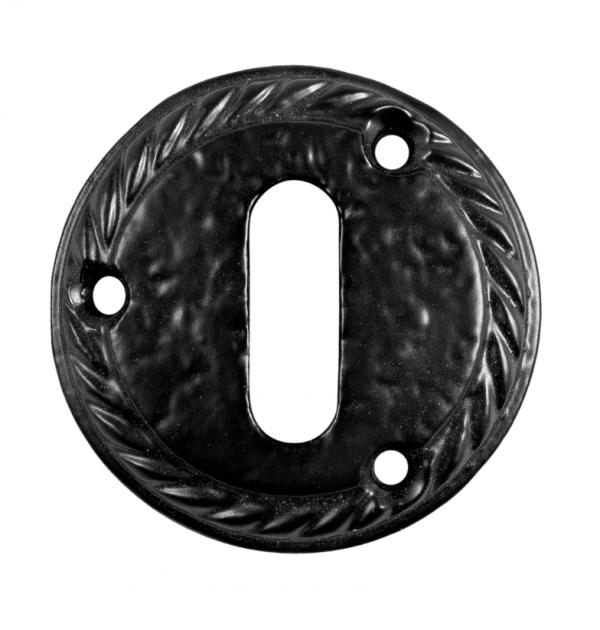 Επιστόμιο  πόρτας  Φ50 εσώπορτας μαύρο ματ K321