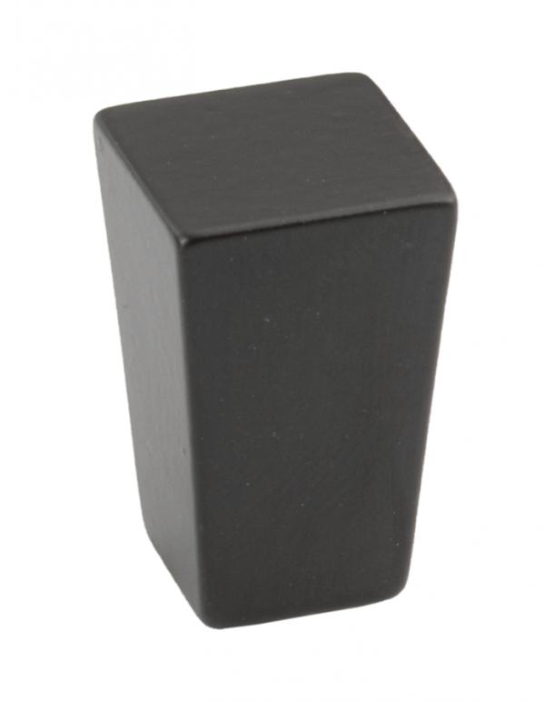 Πόμολο επίπλων τετράγωνο Νο 73 μαύρο ματ 15χ15mm