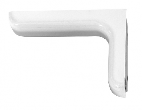 Εξωτερική γωνία ραφιών λευκή με κάλυμμα  βαρέως τύπου 160x240mm